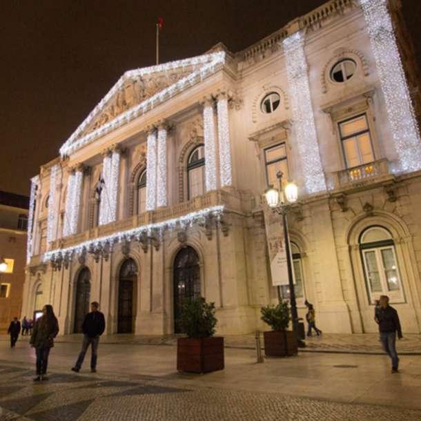 Câmara Municipal de Lisboa Xmas Decor